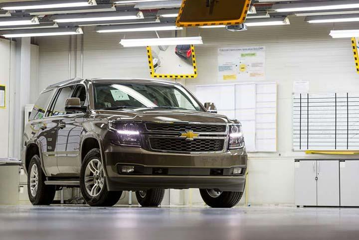 Стоимость Chevrolet Tahoe начинается от 60 тыс. USD.