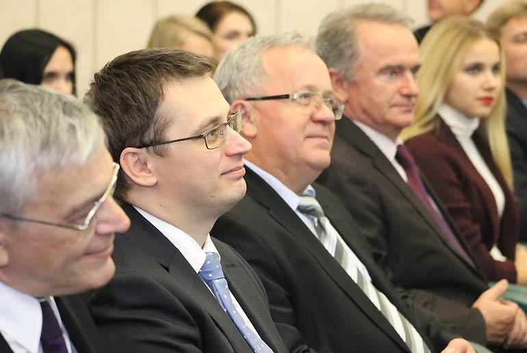 Встреча с представителями из Венгрии в стенах Минского Государственного Лингвистического Университета. Фото А. Андрейчикова