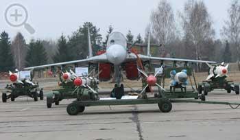 Модернизированный МиГ-29БМ. Фото www.byavia.net