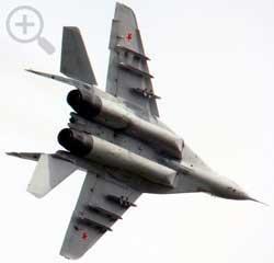 МиГ-29УБ в полете.