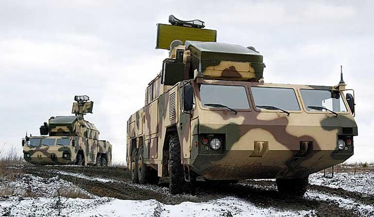 Боевые машины ЗРК «Тор-М2К». Фото nationaldefense.ru