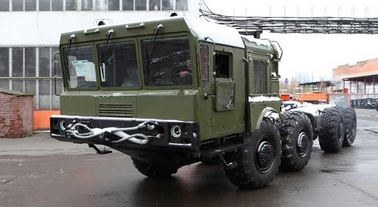 В 2015 году боевые и транспортно-заряжающие машины отечественной РСЗО «Полонез» в качестве базового получили модернизированное шасси с автоматической коробкой передач МЗКТ-7930-300.