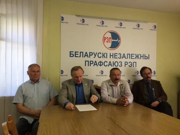Слева направо: Статкевич, Некляев, Федынич, Сивчик