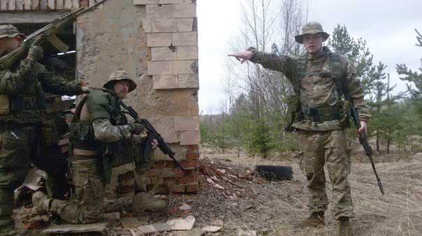 Командиры «Русича»: Ян Петровский и Алексей Мильчаков