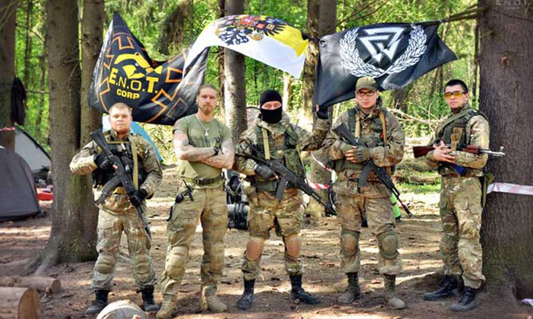 Бойцы «E.N.O.T. Corp»