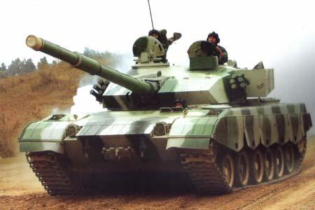 Китайская команда привезла версию танка Т-96 – Т-96B