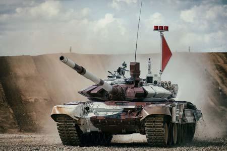Российская команда выступала на модернизированных танках Т-72Б3 – Т-72Б4