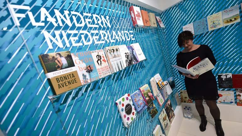 Почетные гости Frankfurter Buchmesse в этом году — Фландрия и Нидерланды. Фото www.swr.de