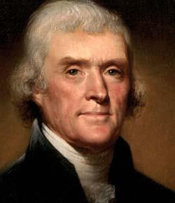 Сам борец за свободу Томас Джефферсон был рабовладельцем и, судя по имеющимся данным, неплохо себя в этом качестве чувствовал.