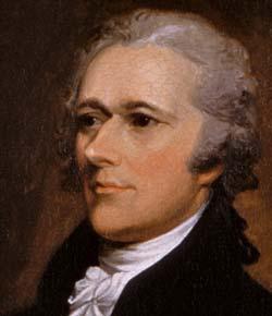 Александр Гамильтон стоял за учреждение в 1791 году первого центрального банка США.