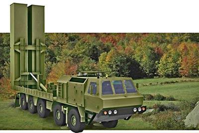 Оперативно-тактический ракетный комплекс «Гром-2».