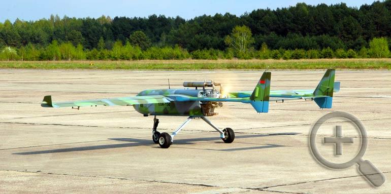 Летные испытания БЛА «Гриф-1». Фото 558arp.by