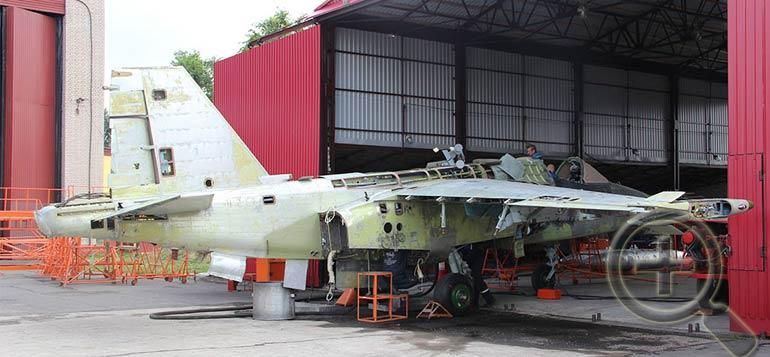 Выполнение комплекса модернизационных мероприятий должно обеспечить повышение боевой эффективности штурмовиков Су-25.  Фото 558arp.by