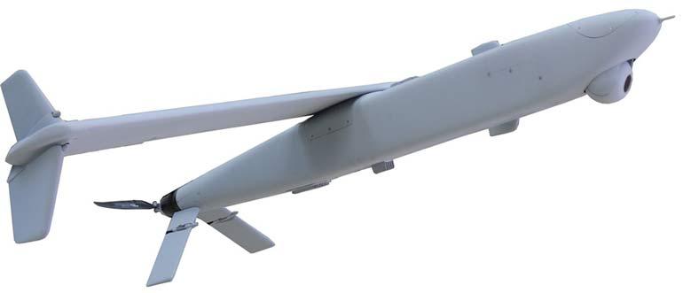 Дрон Green Dragon является гибридом крылатой ракеты и БПЛА.  Фото defence.ru