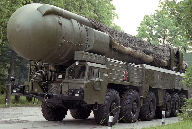 SS-20 РСД-10 «Пионер».  Фото http://vpk-news.ru