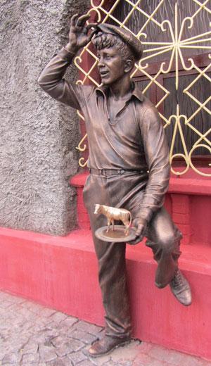 Памятник Шуре Балаганову в Бобруйске. Фото bobr.by