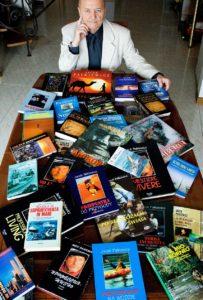 Автор более двадцати книг, в 1998 г., получил главную премию «Янтарная бабочка» за лучшую книгу года о путешествиях