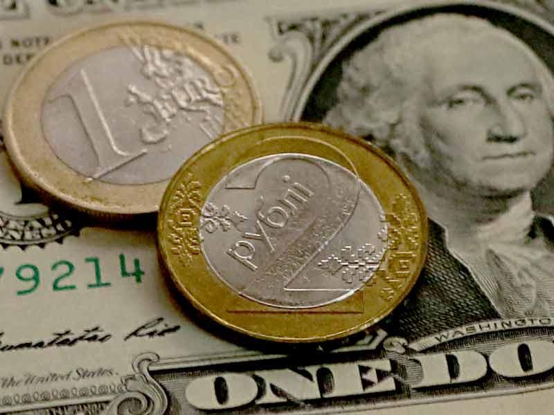 Курсы валют: доллар в Беларуссии перешагнул отметку в2 рубля