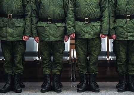 Увольнение в армии 2020